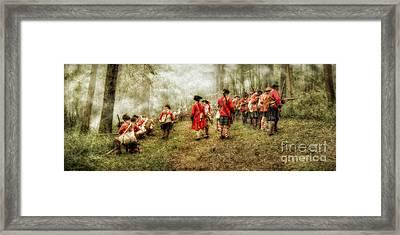 Fog Of War Battle Scene Framed Print by Randy Steele