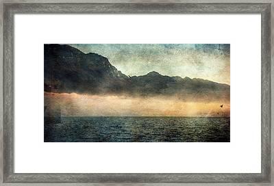 Fog On Garda Lake Framed Print