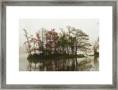 Fog On The River Framed Print by Bill Perry