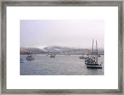 Fog Over Avila Framed Print by Art Block Collections