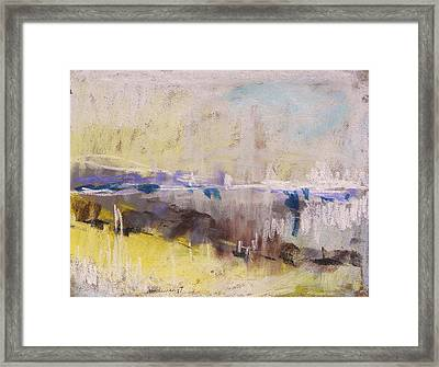 Fog Rising Framed Print by John Williams