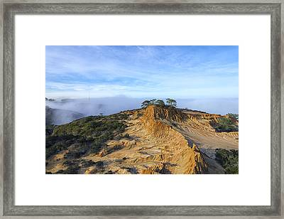 Fog Rolling In Framed Print by Joseph S Giacalone