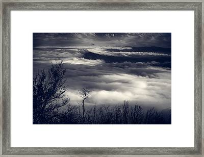 Fog Wave Framed Print