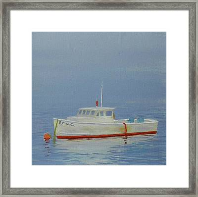 Fogged In Framed Print