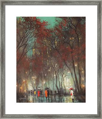 Foggy Afternoon Framed Print