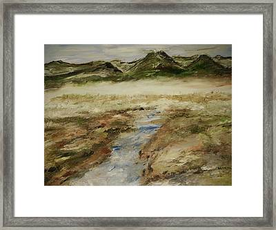Foggy Bottom Land Framed Print by Edward Wolverton