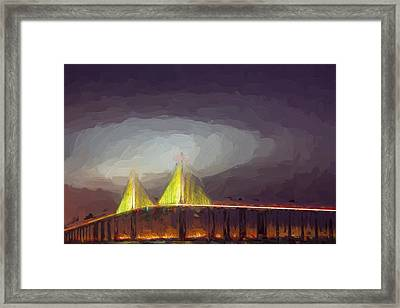 Foggy Dawn II Framed Print by Jon Glaser