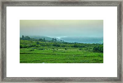 Foggy Day #g0 Framed Print