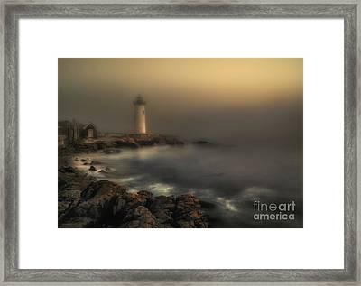 Foggy Daybreak Framed Print by Scott Thorp
