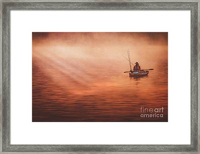 Foggy Daze Framed Print
