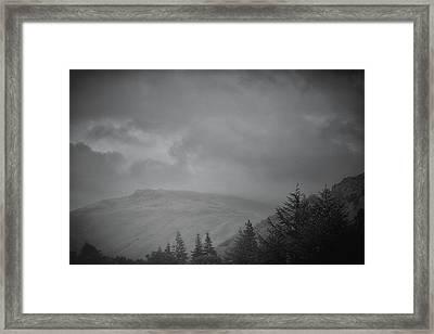 Foggy Hills Framed Print by Martin Newman