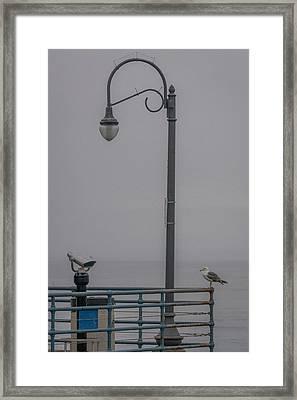 Foggy Morning Framed Print by Ernie Echols