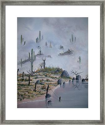 Foggy Morning Framed Print by Patrick Trotter