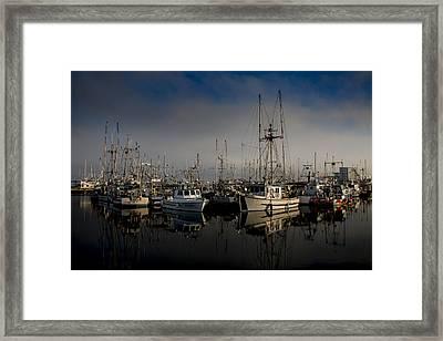 Foggy Morning Framed Print by Randy Hall