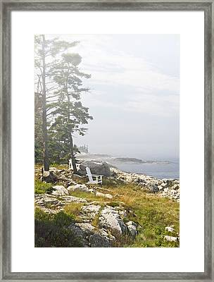 Foggy Rest Framed Print by Gordon Ripley
