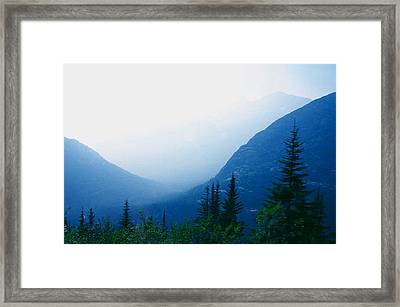 Framed Print featuring the photograph Foggy Valley by Jack G  Brauer