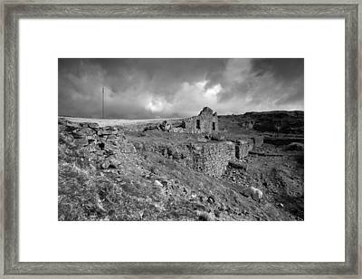 Fogintor Quarry Framed Print by Brian Northmore