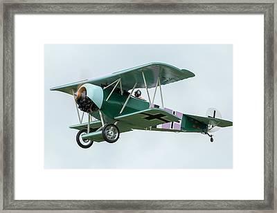 Fokker D.vi Overhead Framed Print by Liza Eckardt