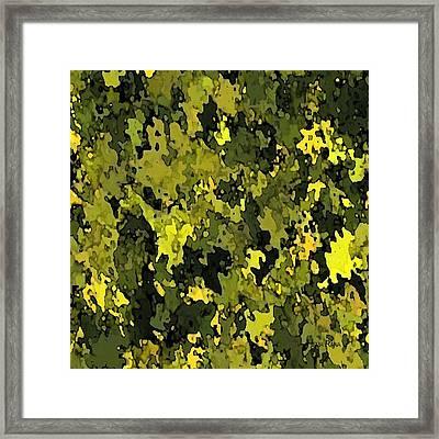 Foliage Framed Print by Hema Rana