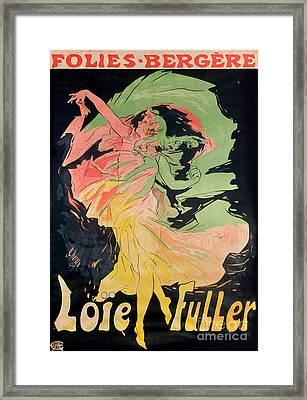 Folies Bergeres Framed Print by Jules Cheret
