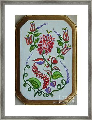 Folk Design Framed Print
