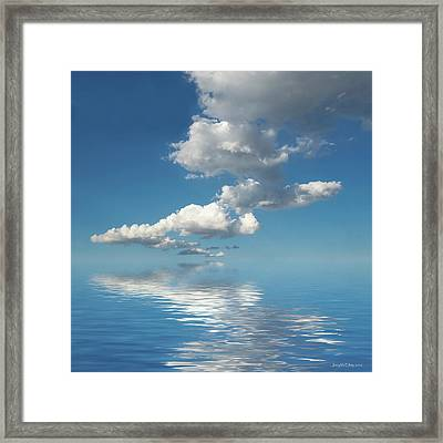 Follow Me Framed Print by Jerry McElroy