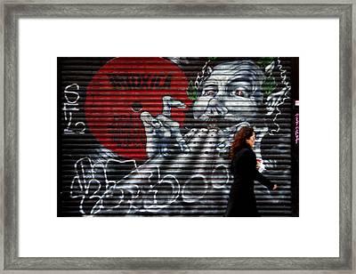 Follow Me Framed Print by Jez C Self