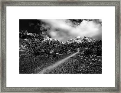 Follow Me No23 Framed Print by Mark Myhaver