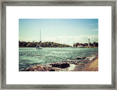 Framed Print featuring the photograph Follow Me Now by Joel Witmeyer