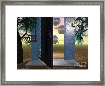 Follow Me Framed Print by Sandra Bauser Digital Art
