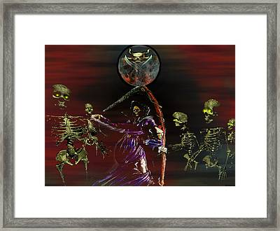 Follow Me Too.... Framed Print by Evelyn Patrick