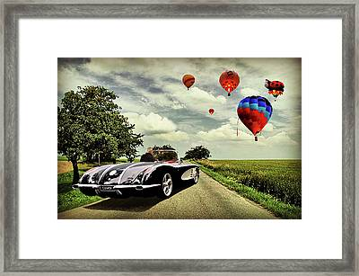 Follow That Dream Framed Print by Steven Agius