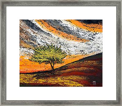 Follow The Clouds Framed Print by Mauro Celotti