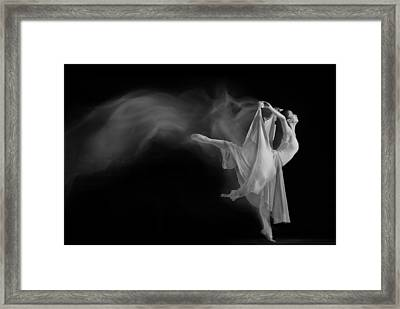 Follow The Flow Framed Print by Andre Arment