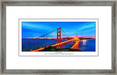 Follow The Golden Trail Poster Print Framed Print