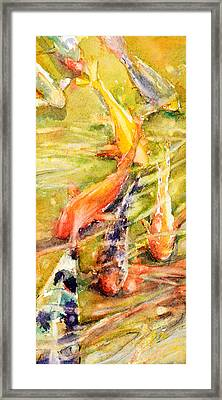 Follow The Leader Framed Print by Judith Levins
