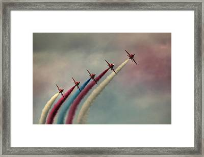 Follow The Leader Framed Print by Phil Clements