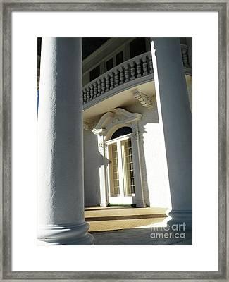 Follow The Light Framed Print by Christine Belt