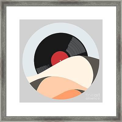 Follow The Music Framed Print