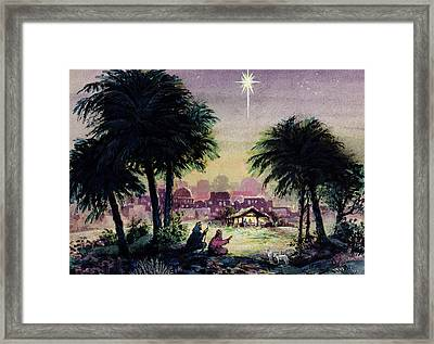 Follow The Star  Framed Print by Stanley Cooke