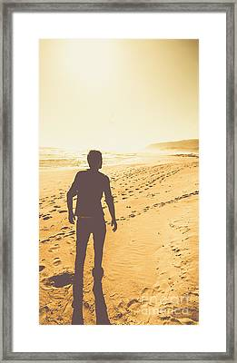 Follow The Sun Down Framed Print by Jorgo Photography - Wall Art Gallery