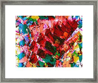 Follow Your Bliss Framed Print