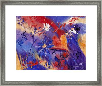 Follow Your Heart Framed Print by Brenda Thour