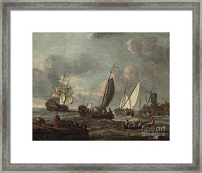 Follower Of Abraham  Framed Print by MotionAge Designs