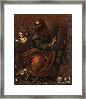 Follower Of Annibale Carracci Framed Print by MotionAge Designs