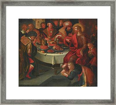 Follower Of Frans Francken Framed Print by MotionAge Designs