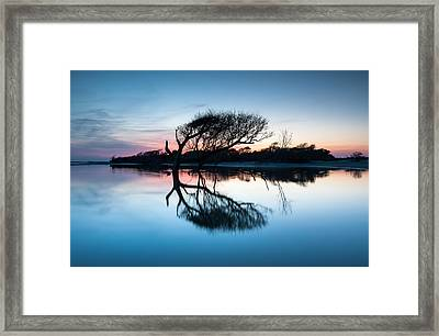 Folly Beach County Park Charleston South Carolina Framed Print by Mark VanDyke