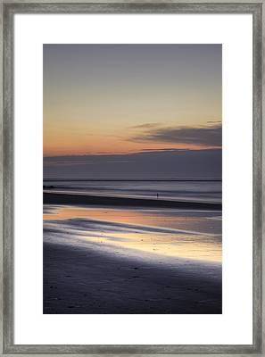 Folly Beach Morning  Framed Print by Dustin K Ryan