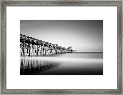 Folly Beach Pier Framed Print by Ivo Kerssemakers