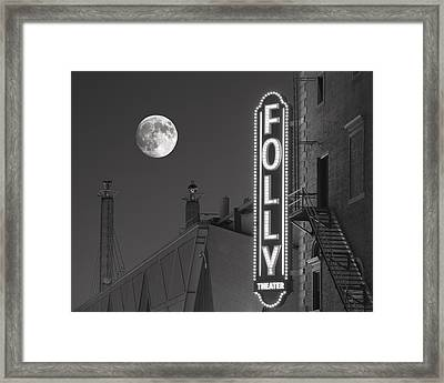 Folly Theatre Kansas City Framed Print